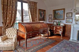 Paris Update Giverny Monet bedroom after