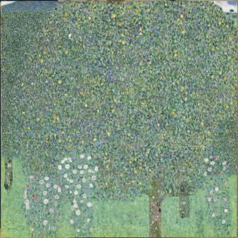 Paris-Update-MuseeOrsay-BeyondtheStars-06. Klimt Rosiers sous les arbres