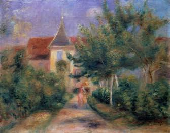 ParisUpdate-maison renoir vue du jardin