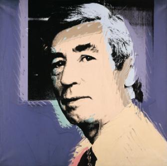 ParisUpdate-Herge-GrandPalais-Warhol-portrait dHergé-1977
