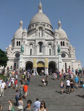 Paris Update Sacre Coeur Steps