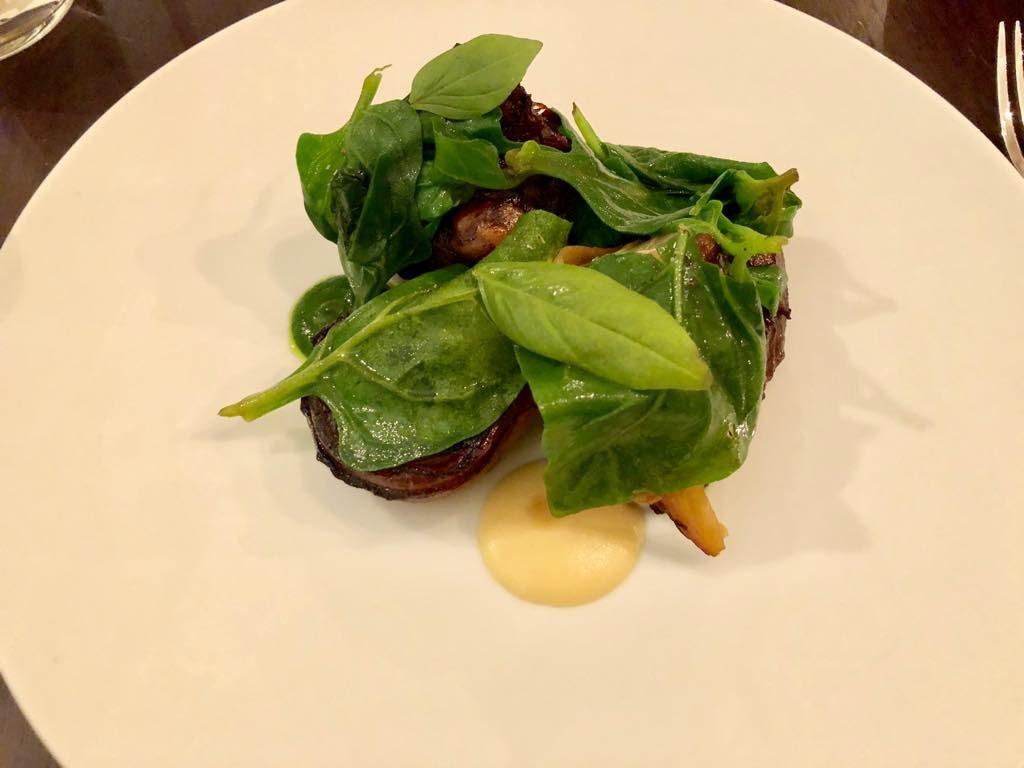 Eels restaurant, Paris, beef cheeks