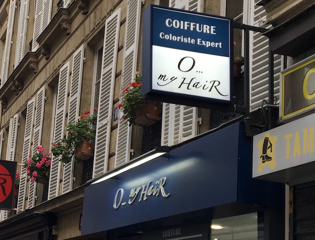 Another OMG shop in Paris
