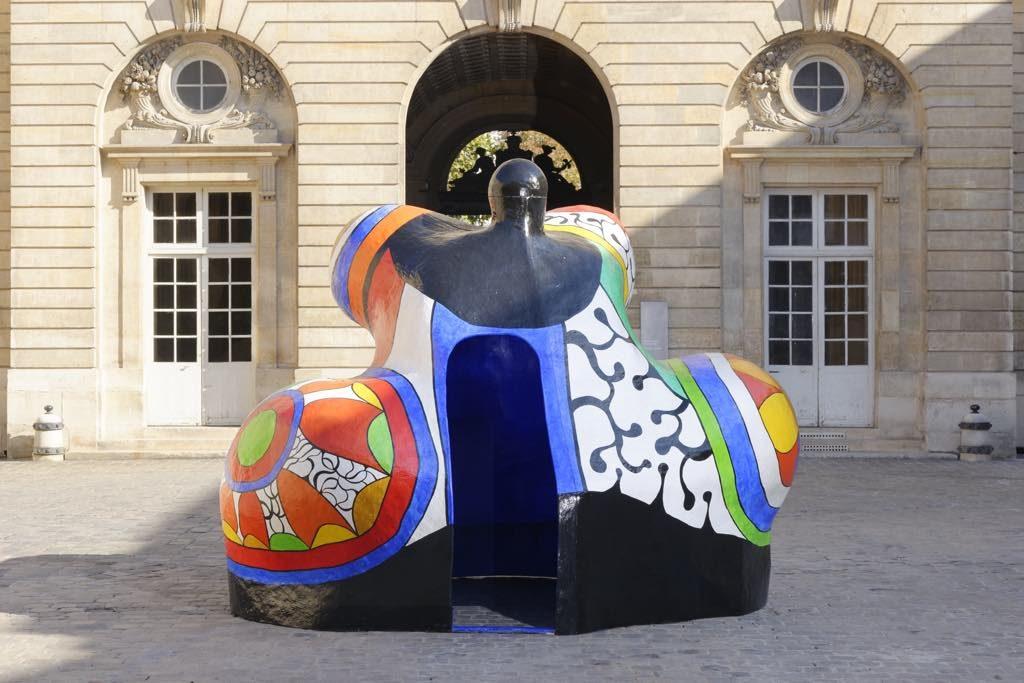 """Nana Maison II,"" by Niki de Saint Phalle."