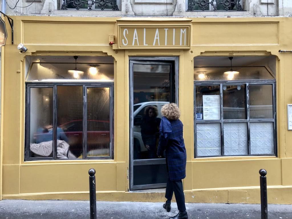 Salatim, restaurant, Paris