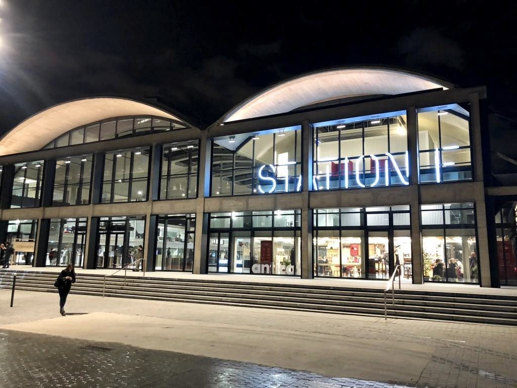 Station F, Paris, world's largest, startup incubator