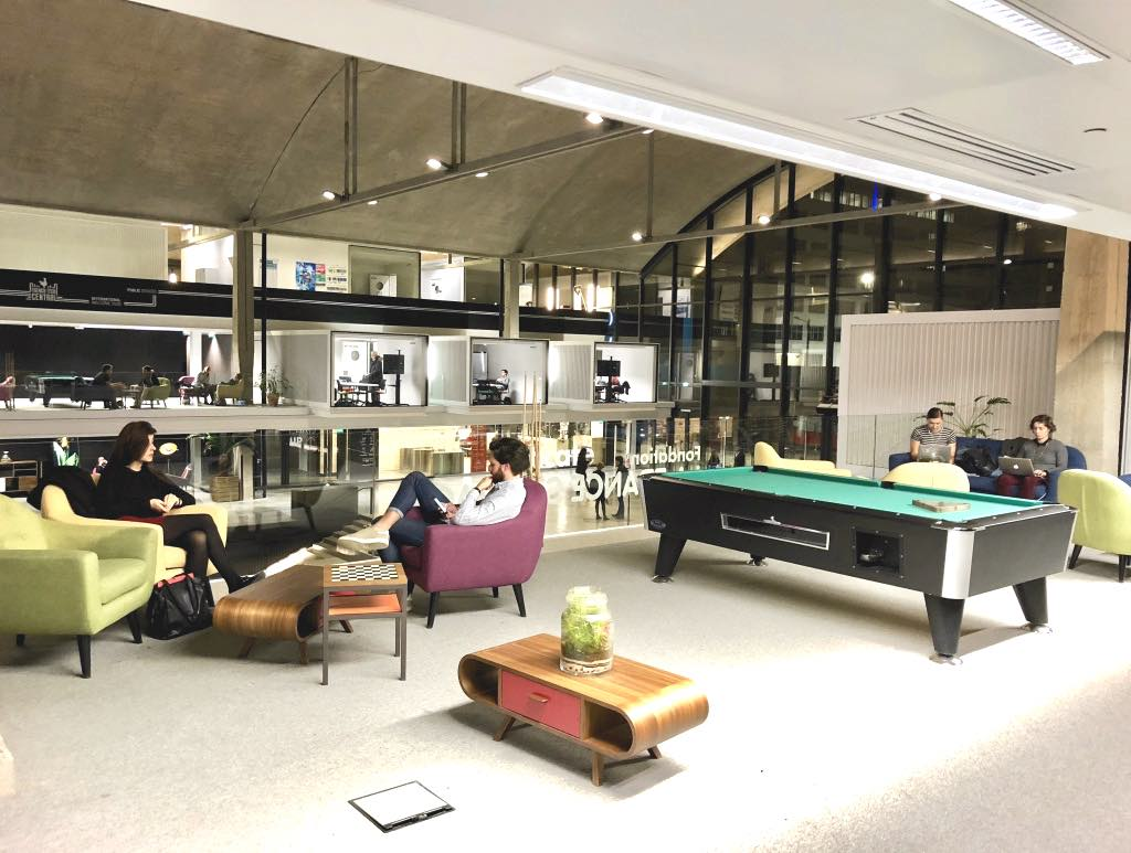 Station F World S Largest Startup Incubator Located In