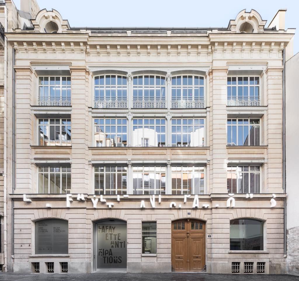 Lafayette Anticipations, foundation, Paris, Marais