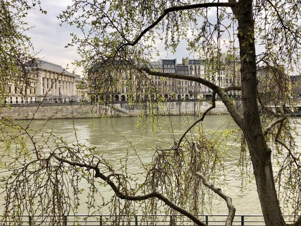 Seine in springtime.