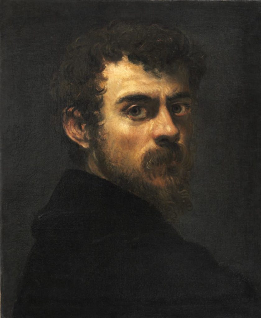 "Tintoretto ""Self-portrait"" (c. 1547). © Philadelphia Museum of Art"