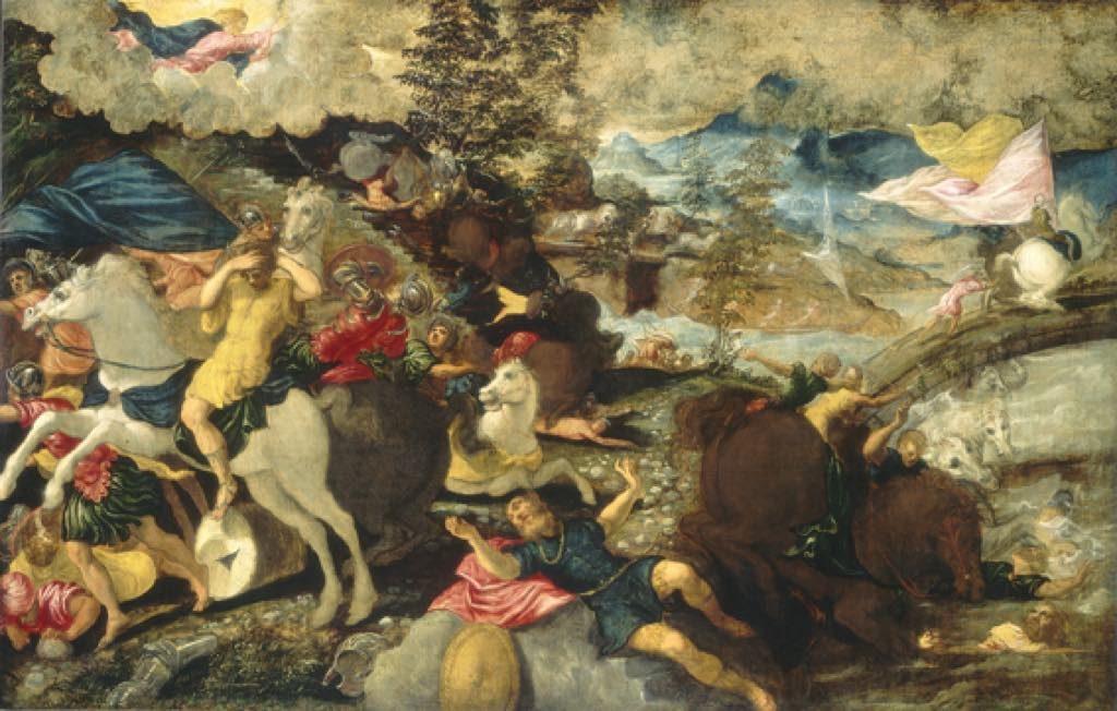 "Tintoretto ""The Conversion de Saint Paul"" (1538-39). © National Gallery of Art, Washington"