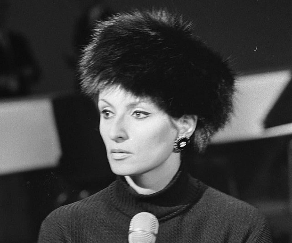 Barbara in 1968. Photo: Jac. de Nijs. Nationaal Archief, Den Haag, Rijksfotoarchief