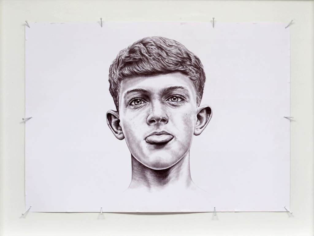 """""""Timmy"""" (2014), by THE KID. © Charly Gosp._Courtesy Collection BIC"""