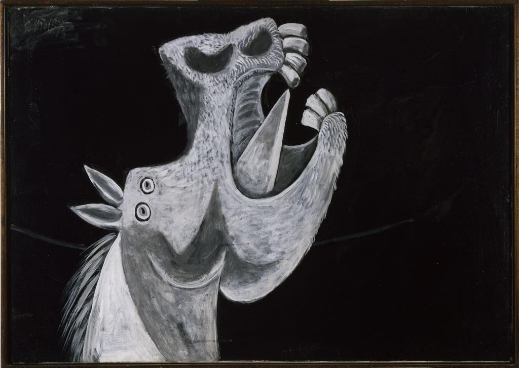 """Study for Picasso's """"Guernica"""" (1937. © Photographic Archives Museo Nacional Centro de Arte Reina Sofia, 1992. © Succession Picasso 2017"""