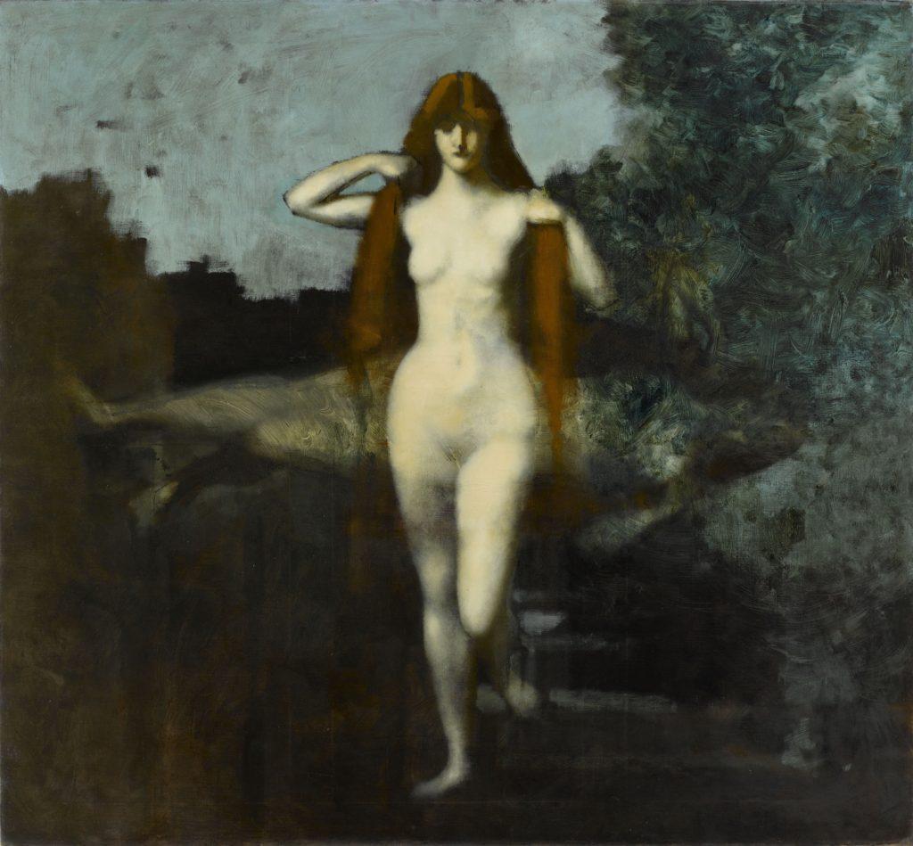 """""""La Vérité"""" (1899-1902), by Jean-Jacques Henner. © RMN-Grand Palais/Gérard Blot. Musee Jean-Jacques Henner"""