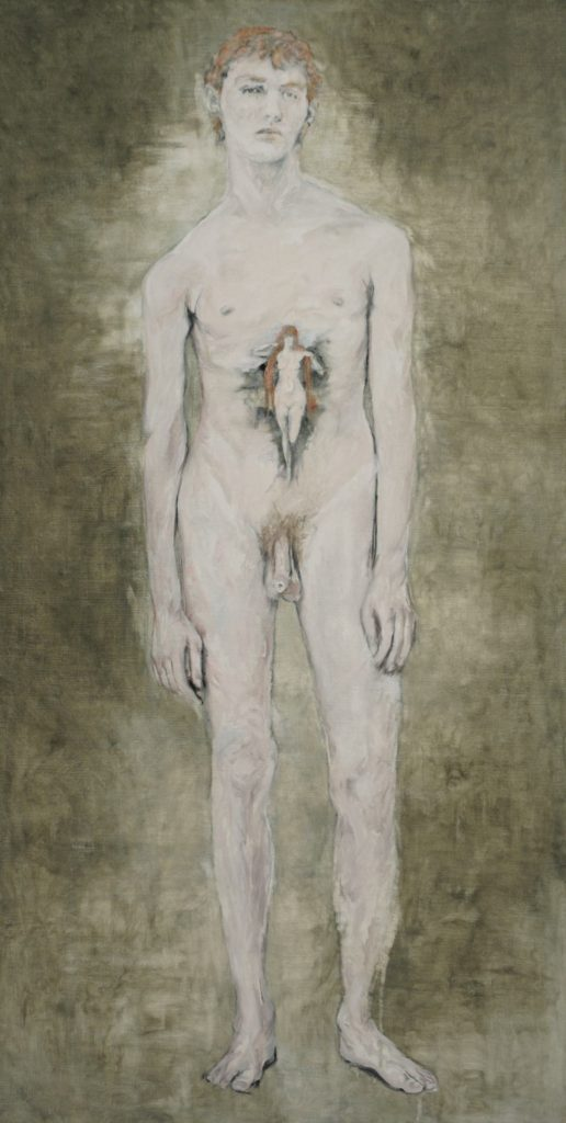 """""""Nu. La Vérité de Henner"""" (2017), by Eugénie Alméras. Photo © J. Obadia. Musee Jean-Jacques Henner"""