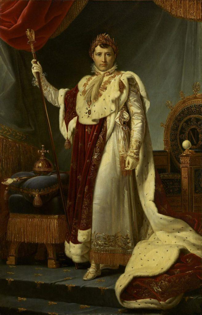 """""""Portrait of Napoleon Bonaparte"""" (1805), by François Gérard. © RMN-GP (m Musée du Louvre)/Thierry Ollivier"""