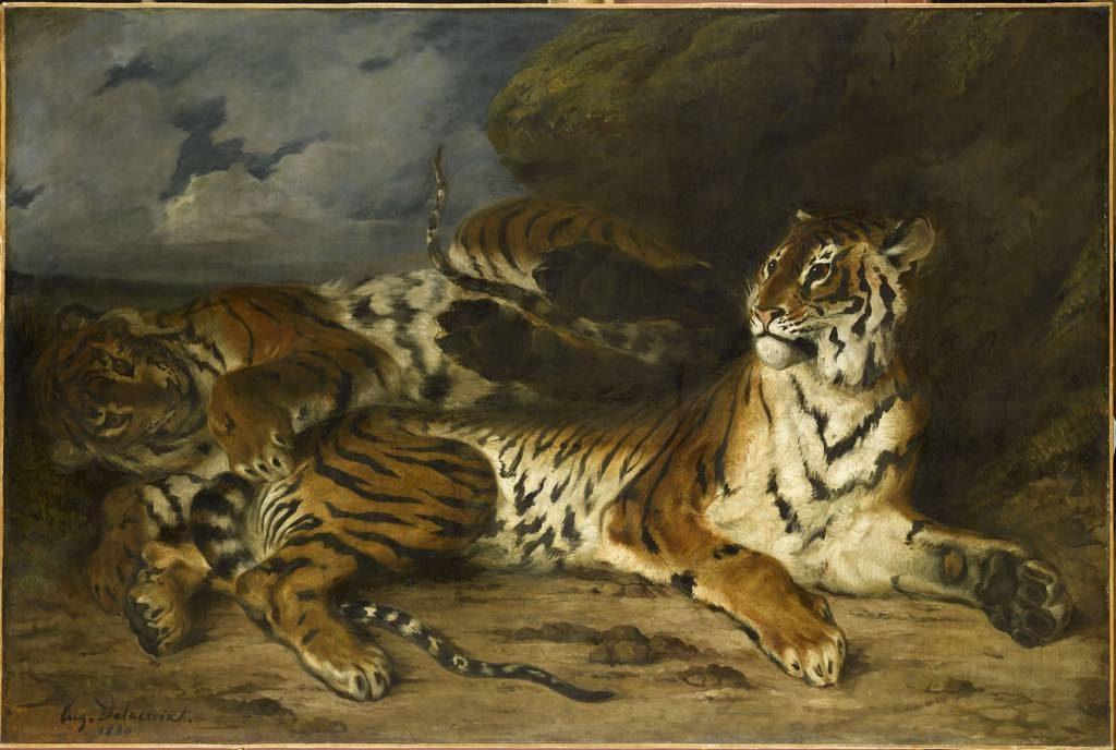 Delacroix Louvre Paris