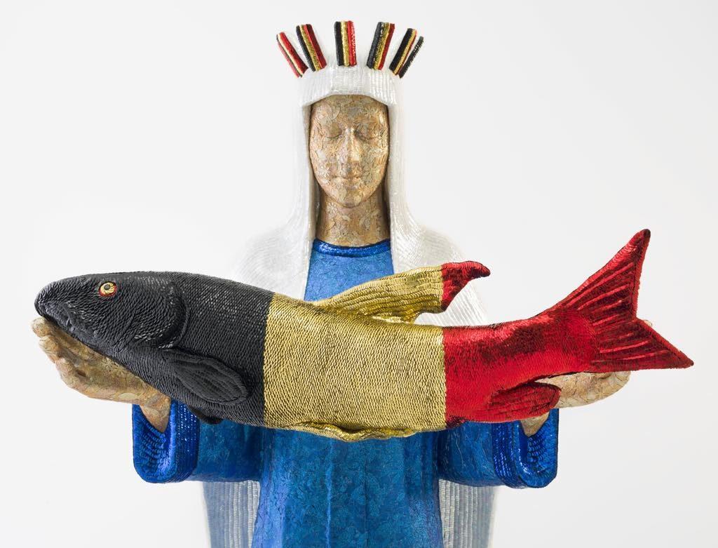 Jan Fabre, The Belgian Virgin Mary's Bluff, 2018, Templon