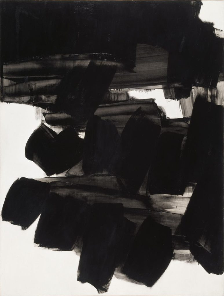 "Soulages, Fondation Gianadda, ""Peinture 260 x 202 cm, 19 Juin 1963"