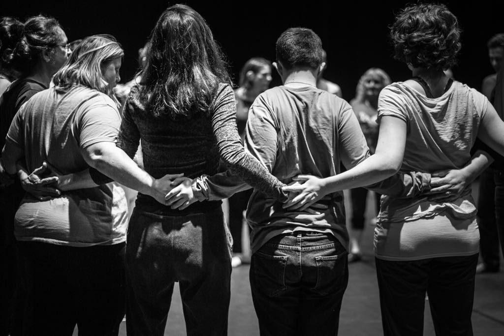 Amateur dance class. Photo: Clément Szczuczynski