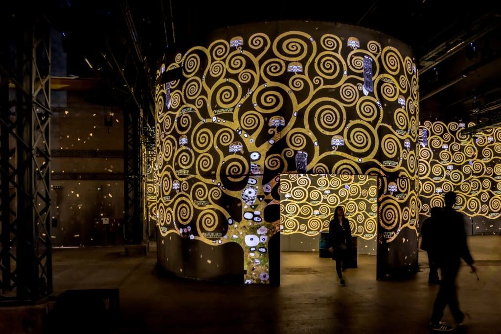 "The immersive exhibition ""Gustav Klimt"" at the Atelier des Lumières in Paris © Culturespaces/E. Spille"