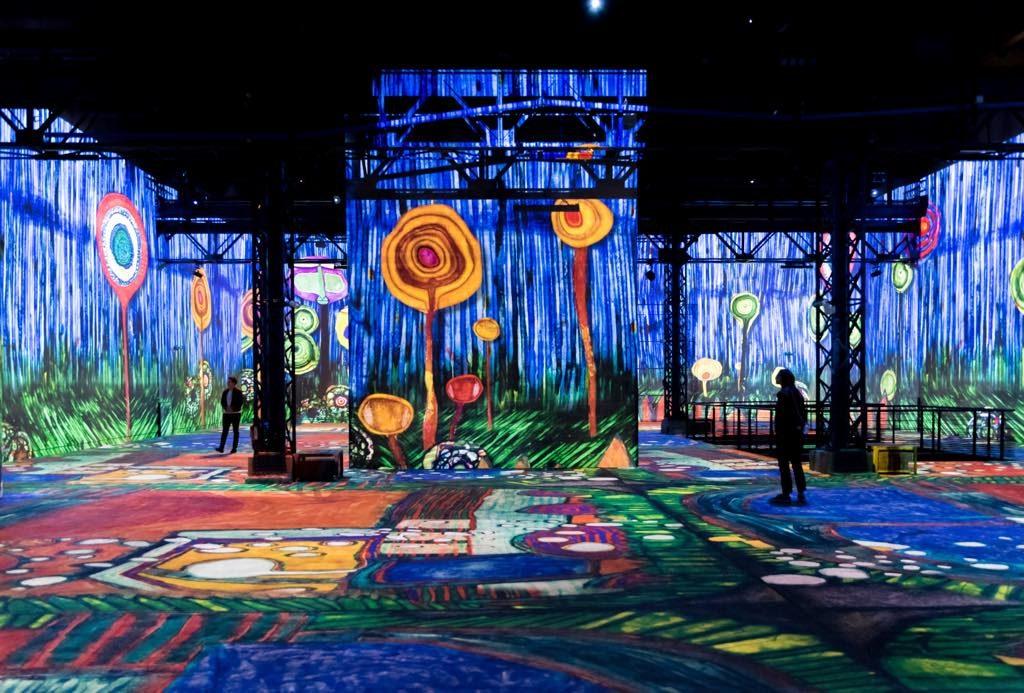 """20 - L'exposition immersive """", sur les pas de la sécession viennoise"""" - Atelier des Lumières © Culturespaces - Eric Spiller"""