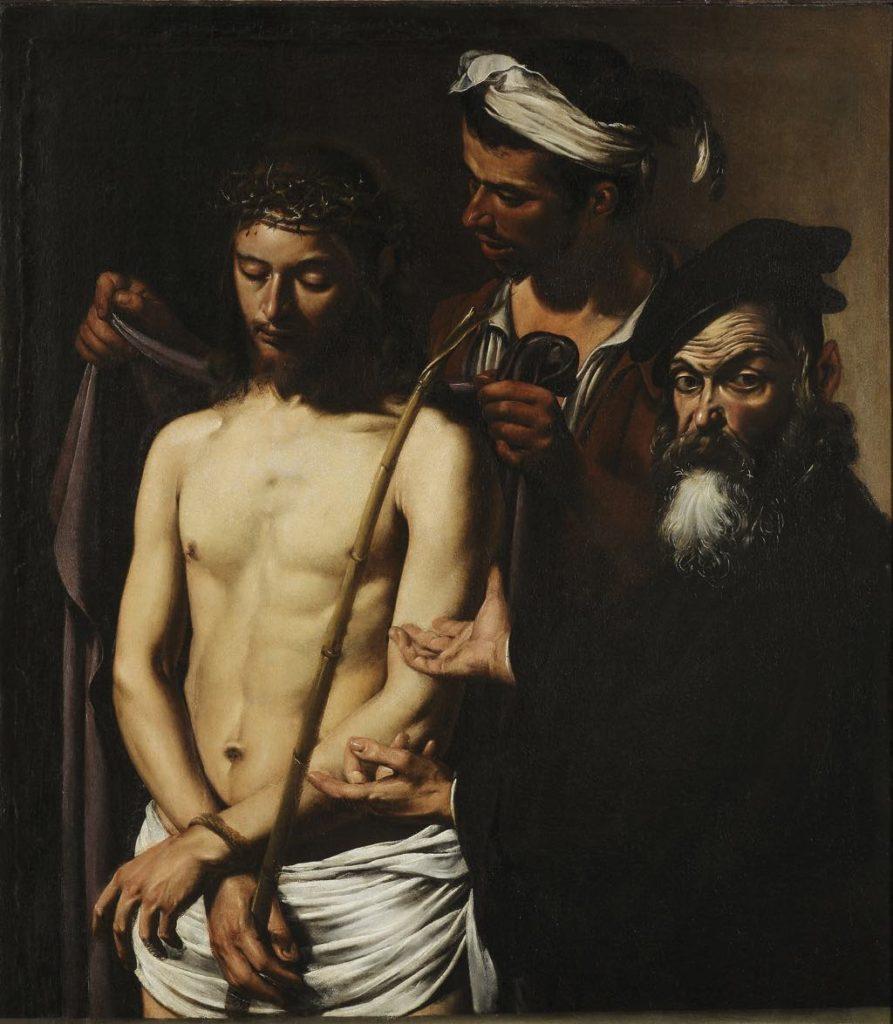 """Caravaggio, """"Ecce Homo"""" (1605?). © Musei di Strada Nuova, Genova"""