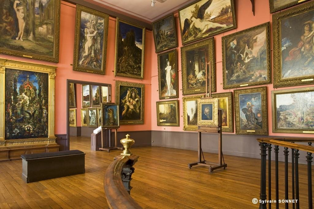 Gustave Moreau's studio
