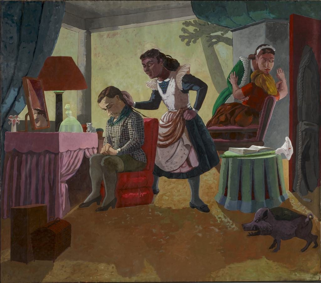 "Paula Rego, ""The Maids"" (1987)"