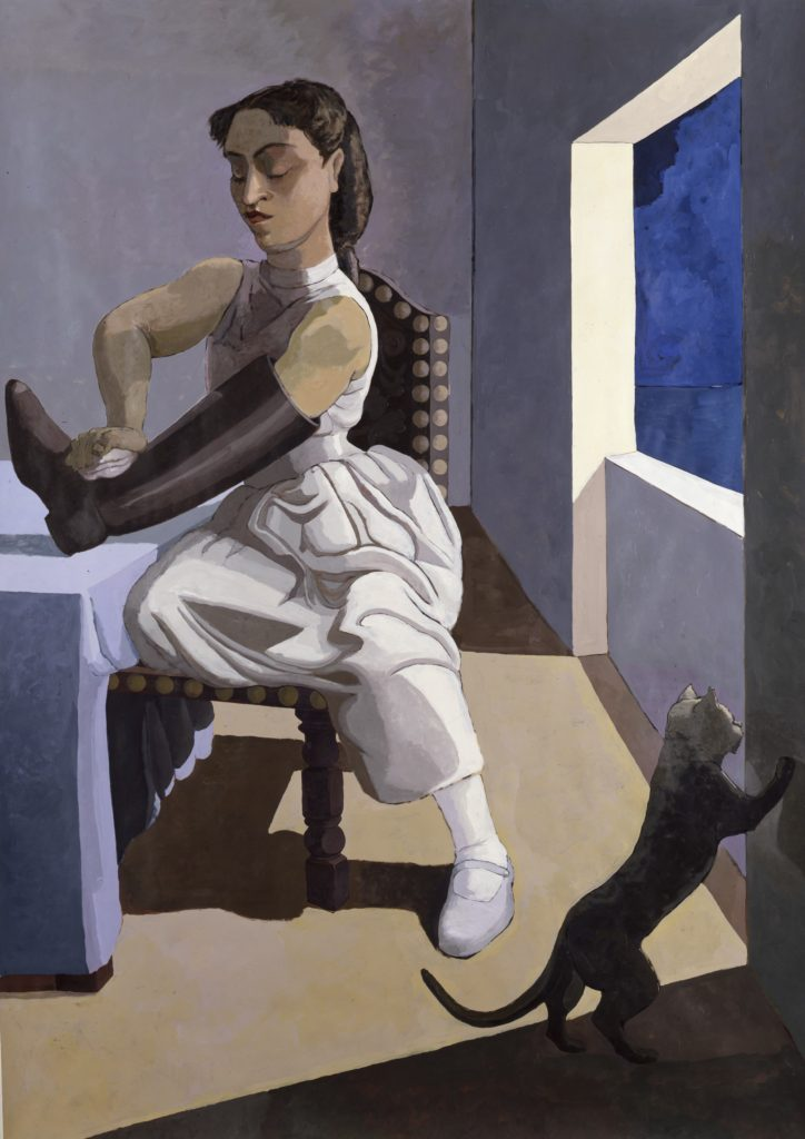 "Paula Rego, ""The Policeman's Daughter"" (1987)"