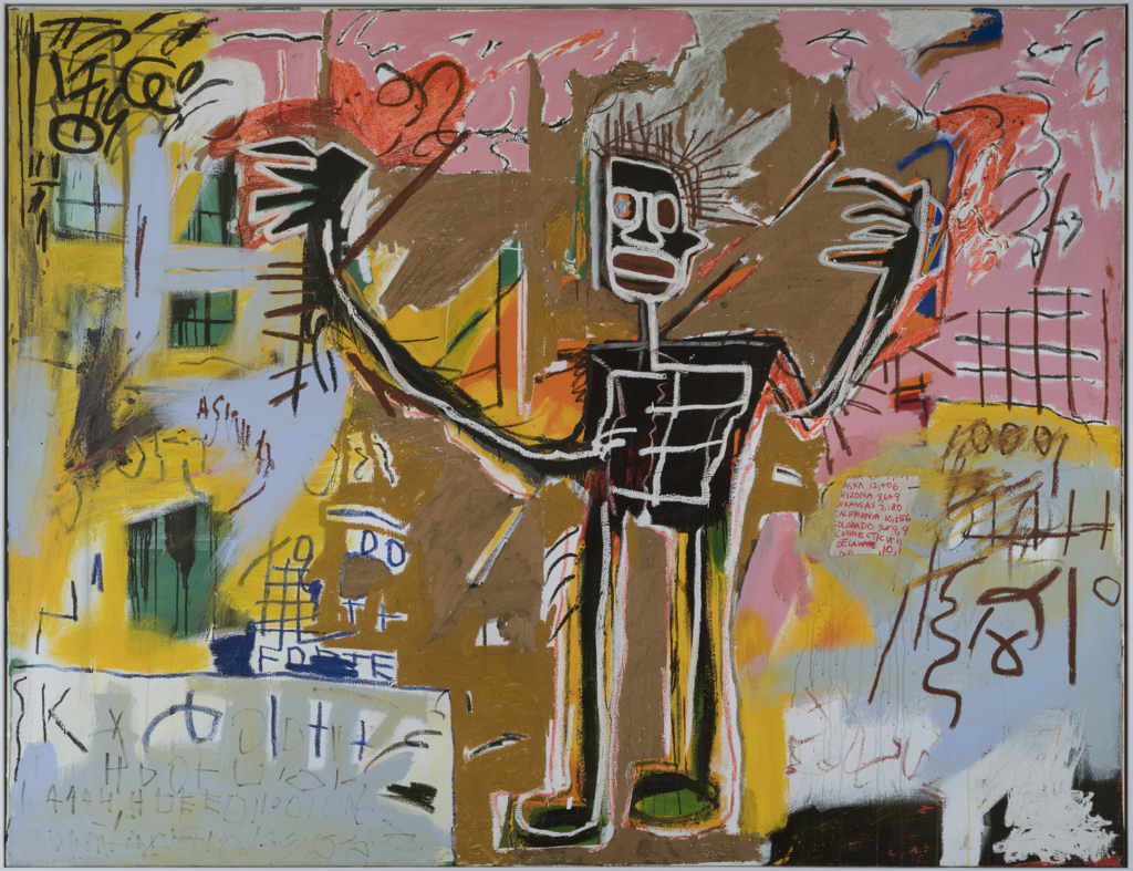 """Untitled (Tenant)"" (1982), by Jean-Michel Basquiat."