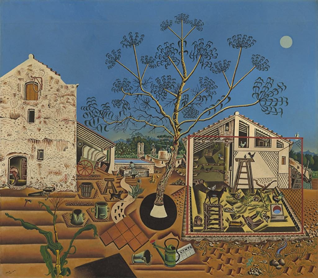 """The Farm"" Miró National Gallery of Art, Washington"