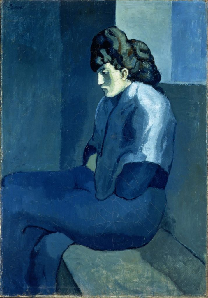 "Picasso ""Melancholy Woman"" (1902)"