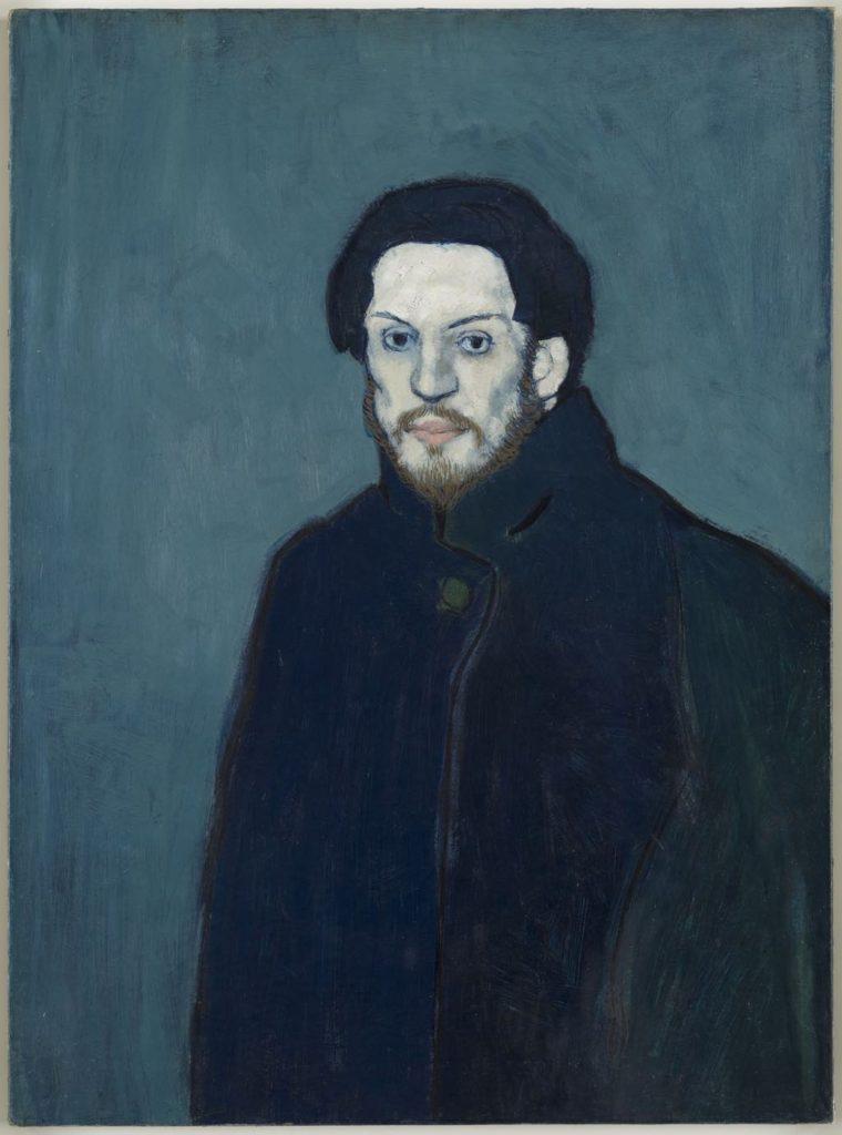 """Picasso """"Self-Portrait"""" (1901)"""