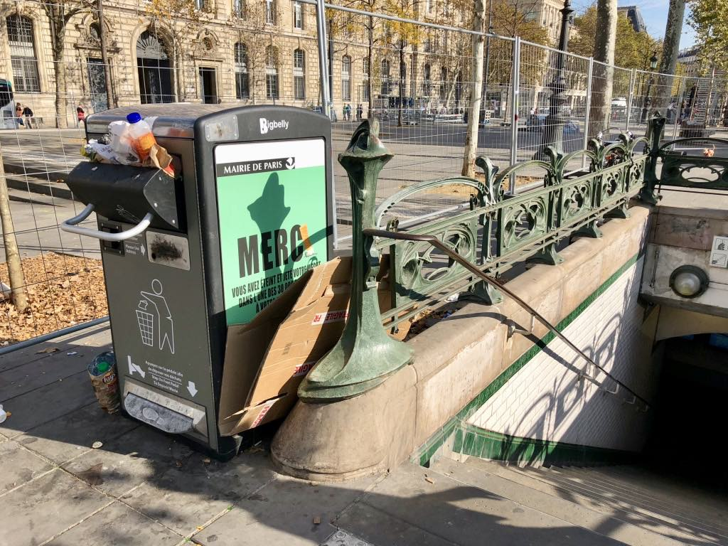 Paris Street Furniture Breakdown