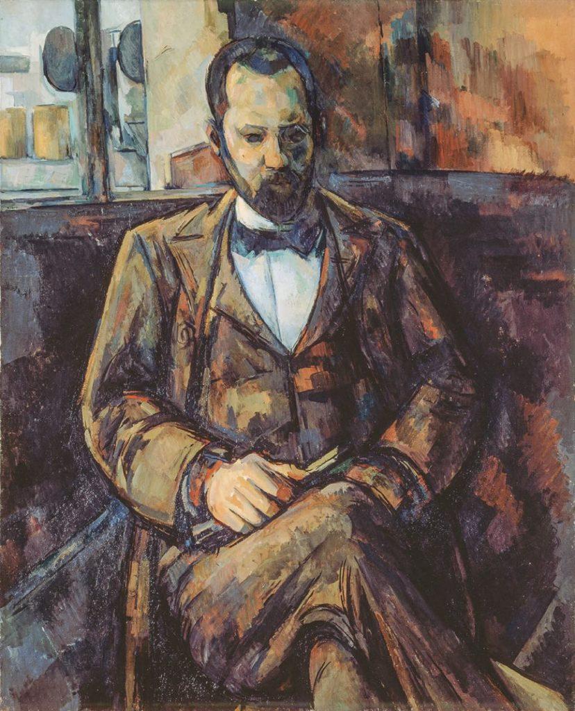 """""""Portrait d'Ambroise Vollard (1899), by Paul Cézanne"""