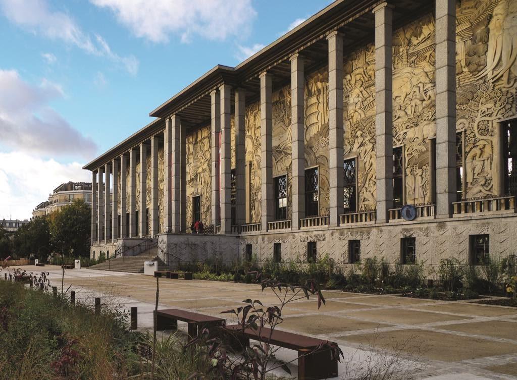 The Palais de la Porte Dorée, home to the National Museum of the History of Immigration in Paris.