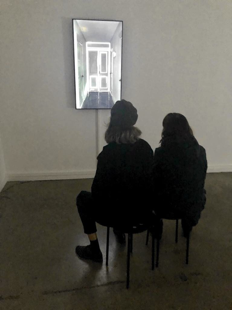 """Pablo Valbuena """"Site Study: Corridor"""" 104 Paris"""