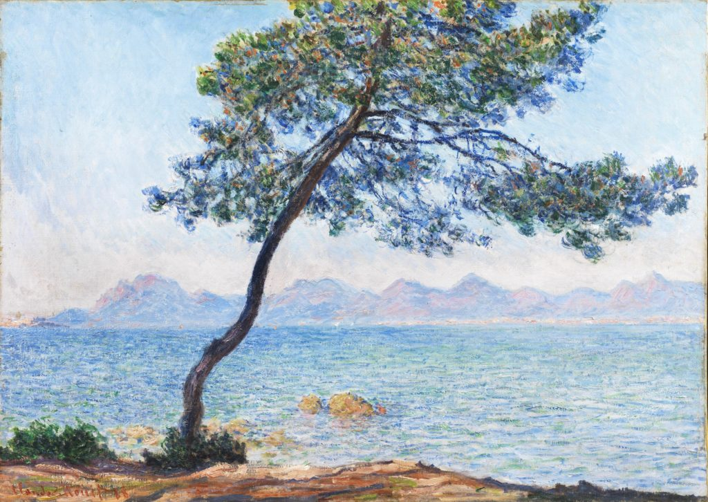 """Antibes"" (1888), by Claude Monet. The Courtauld Gallery, London (Samuel Courtauld Trust)"