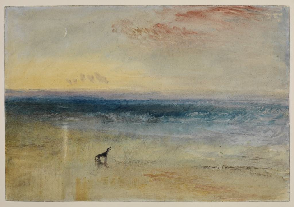 """""""Dawn after the Wreck"""" (1841), by Joseph Mallord William Turner. The Courtauld Gallery, London (Samuel Courtauld Trust)"""