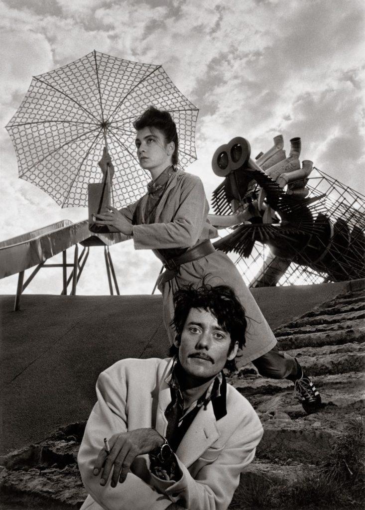 """""""Les Rita Mitsouko"""" (October 13, 1988, Parc de la Villette). © Atelier Robert Doisneau"""