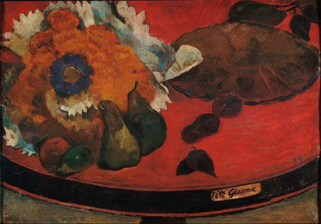 """Fête Gloanec"" (1888) by Paul Gauguin"