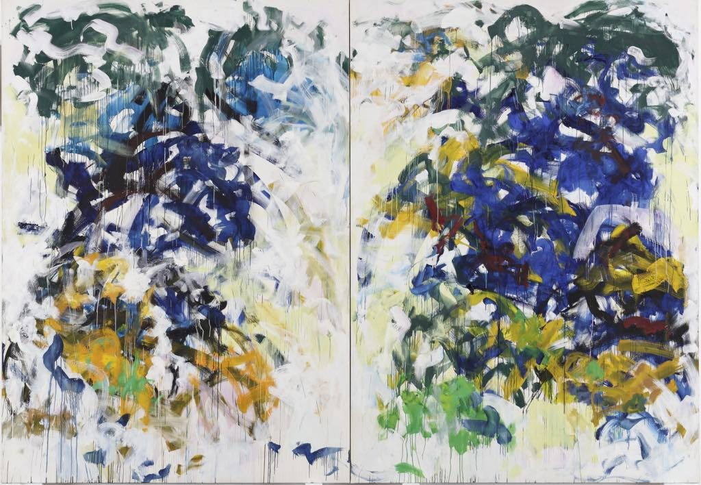 """Beauvais"" (1986), by Joan Mitchell. Fondation Louis Vuitton"
