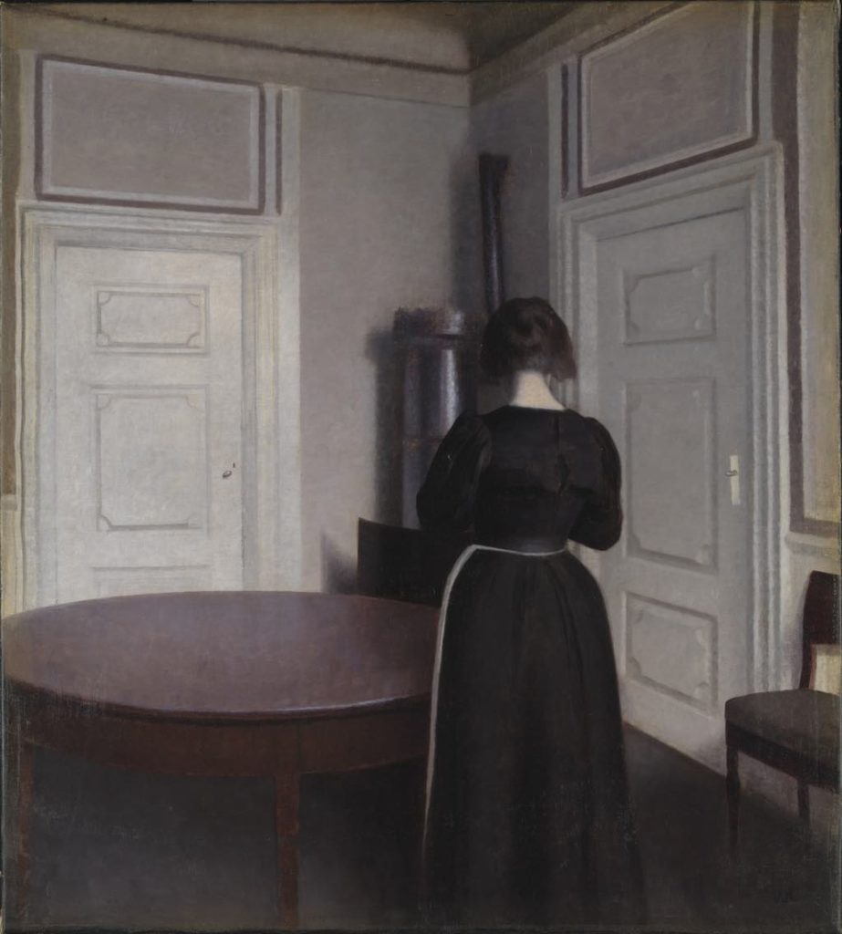"Hammershøi ""Interior, Corner of Dining Room"" (1899). © Tate, London 2014"