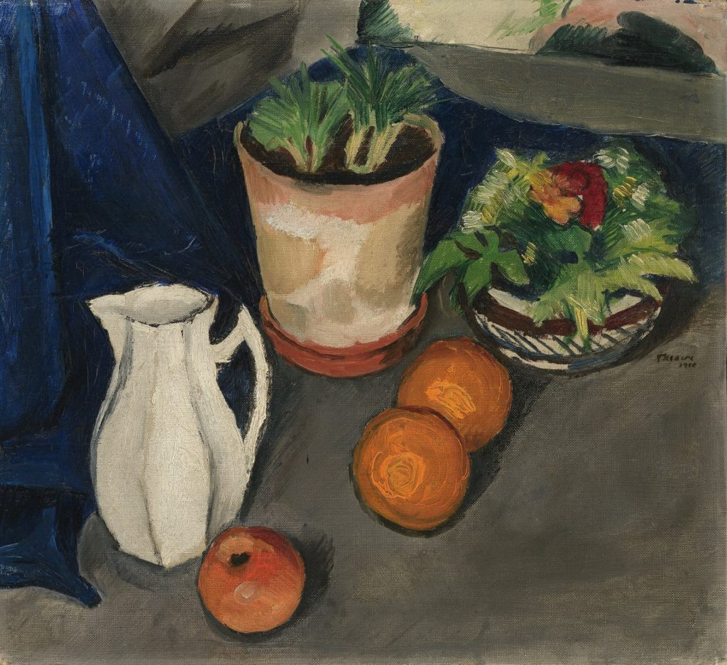 """White Jug with Flowers and Fruits"" (1910), by August Macke. © Walter Bayer, München"