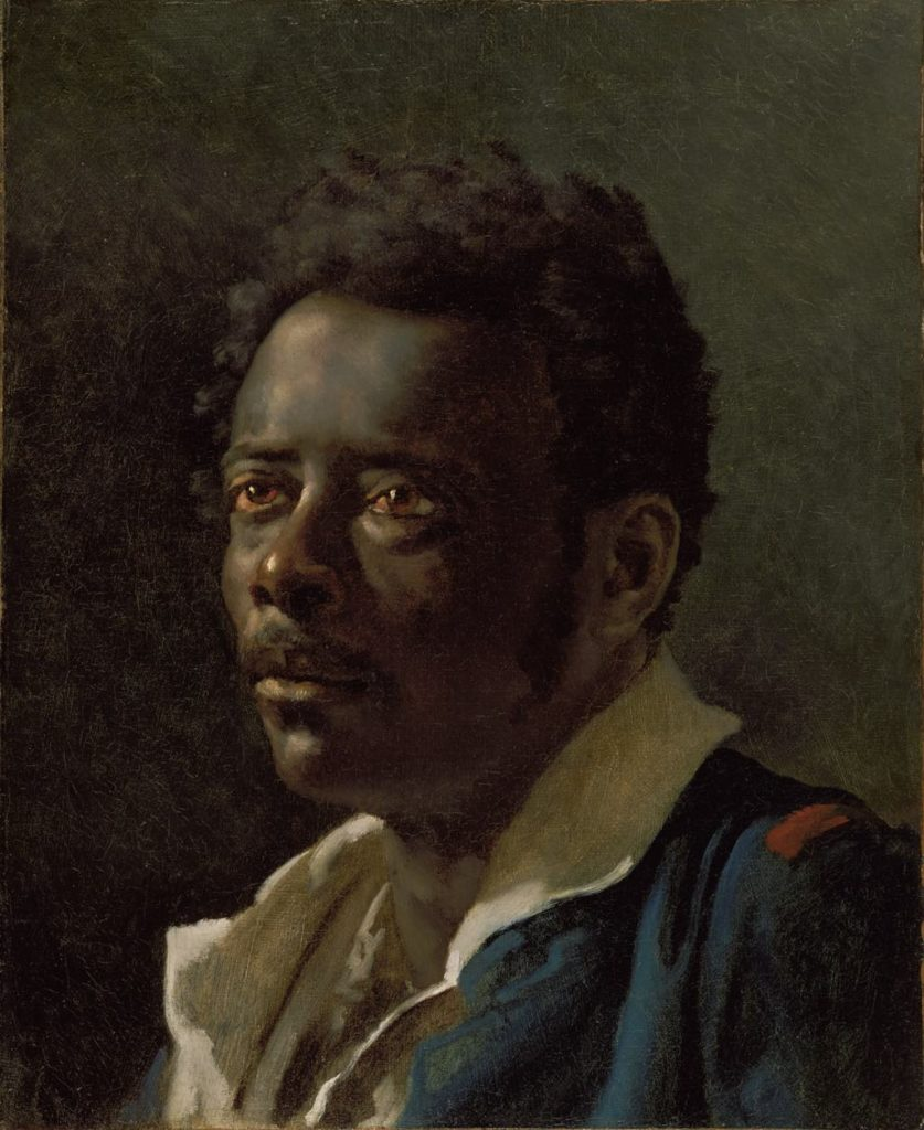 """Study of a Model"" (c. 1818-19), by Théodore Géricault. © Photo Courtesy The J. Paul Getty Museum, Los Angeles"