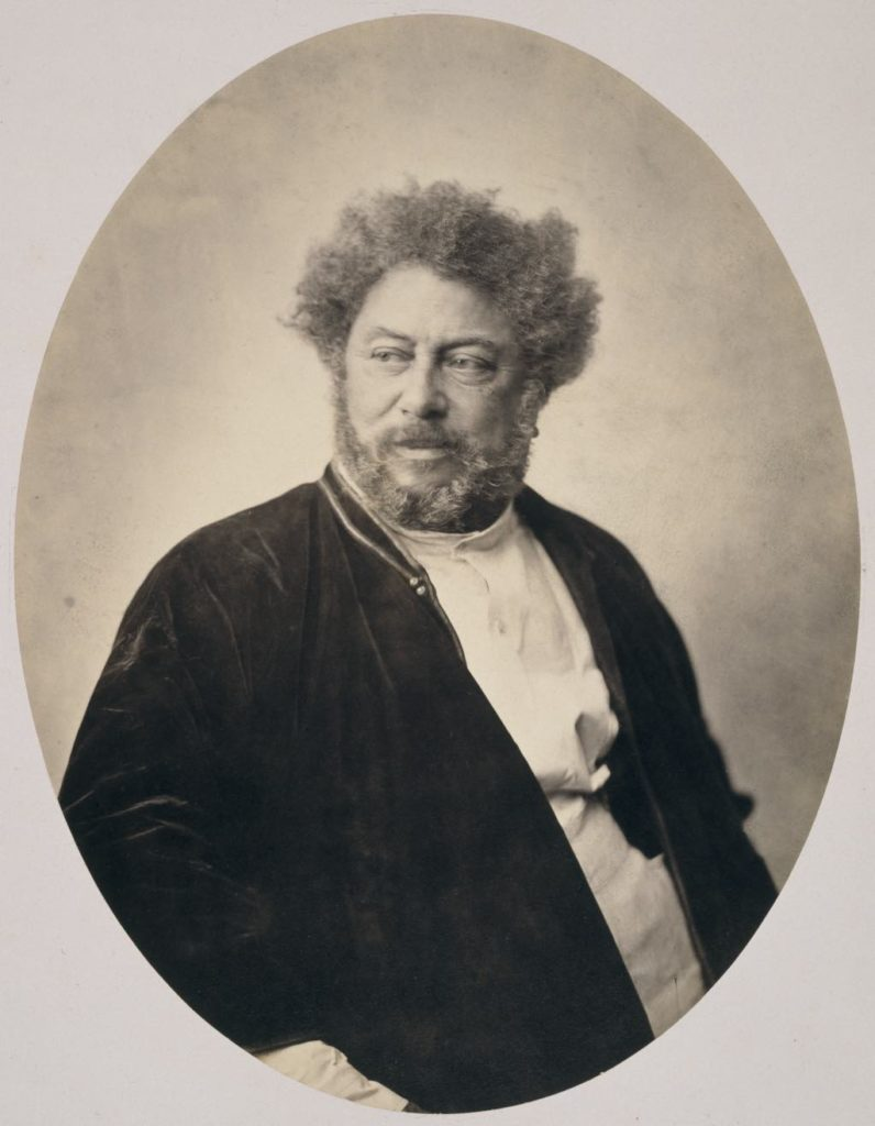 """Portrait of Alexandre Dumas in Russian Dress"" (1859), by Gustave Le Gray. Photo © RMN-Grand Palais (Musée d'Orsay)/image RMN-GP"