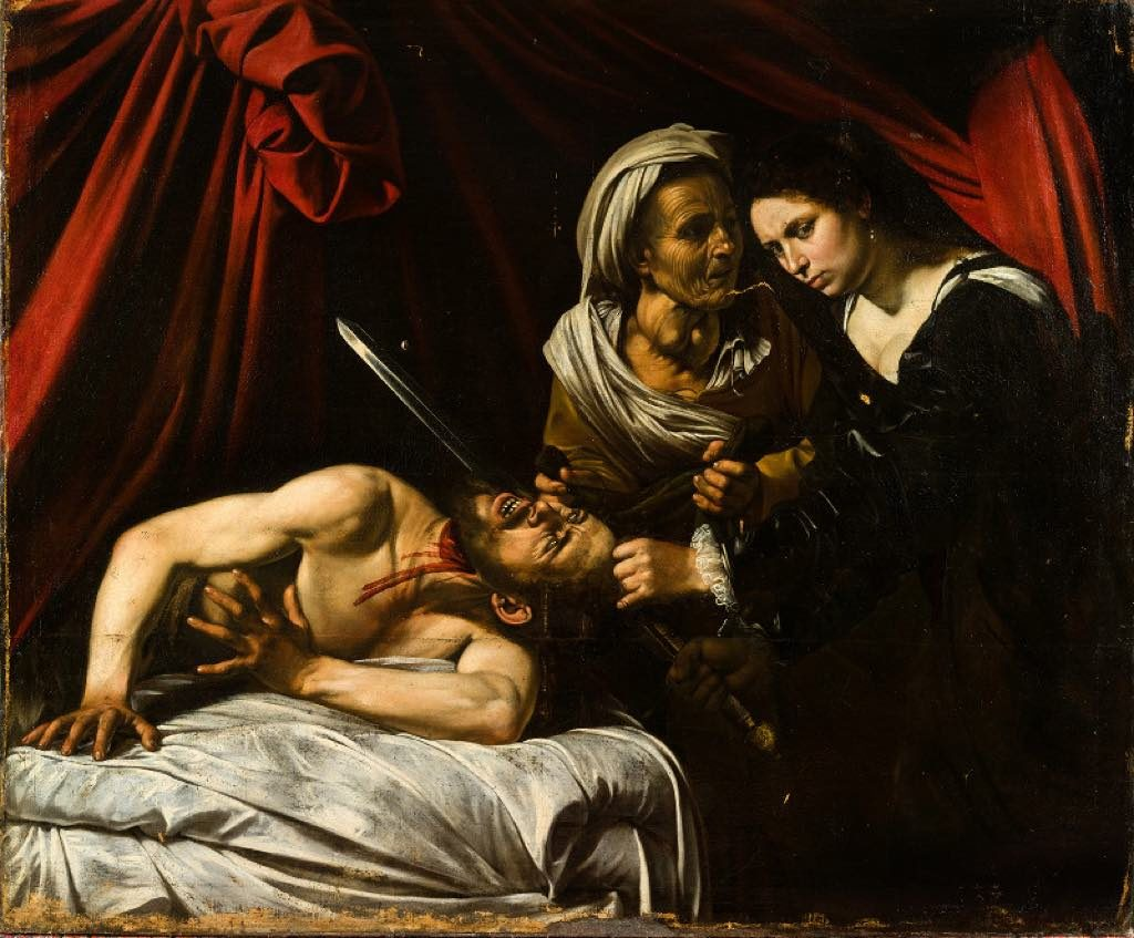 """Judith and Holophernes"" (c. 1607), the ""Toulouse Caravaggio,"" will be auctioned in France on June 27, 2019."