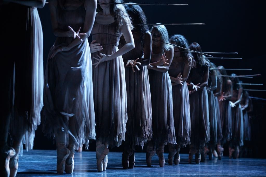 The English National Ballet performing Akram Khan's Giselle.